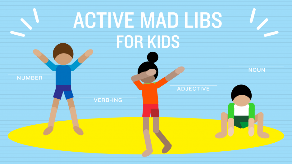 Active Mad Libs for Kids