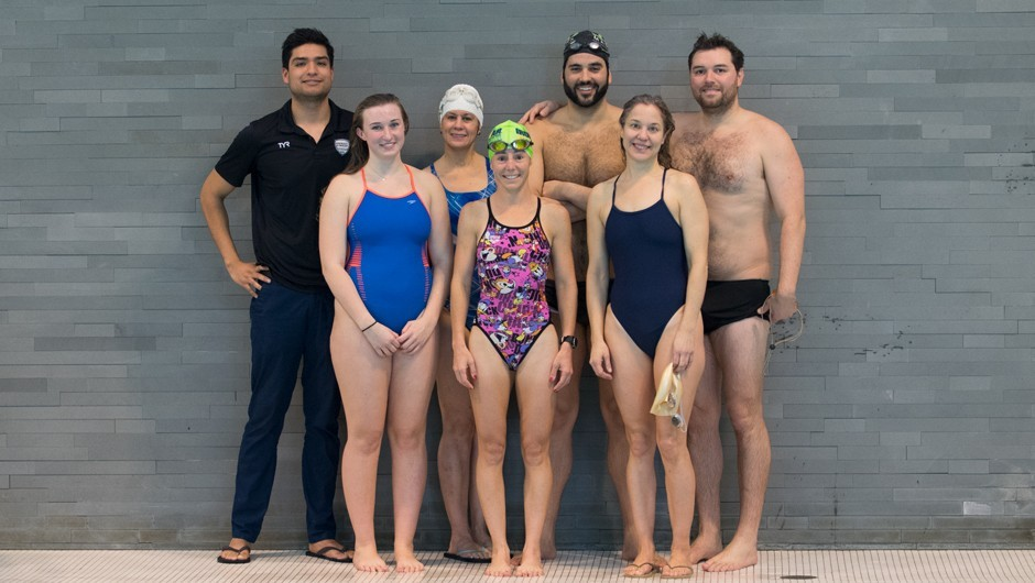 Get to Know the AGUA Masters Swim Team