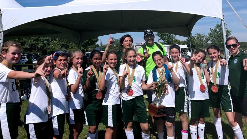 Asphalt Green Soccer Club Kicks Off Golden Goal Campaign