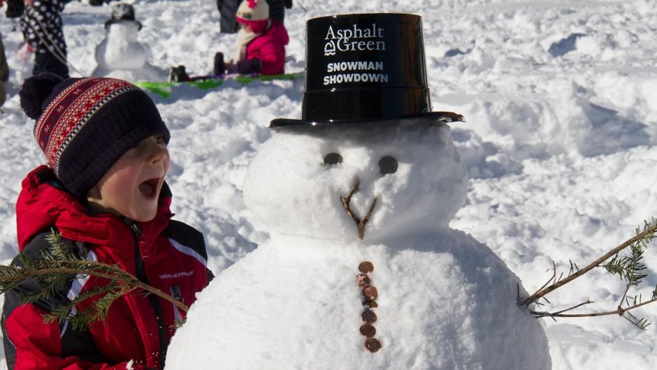 The Cutest Photos from Snowman Showdown 2016!