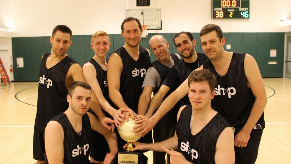 Team Shop Claims Winter Adult Basketball League Title