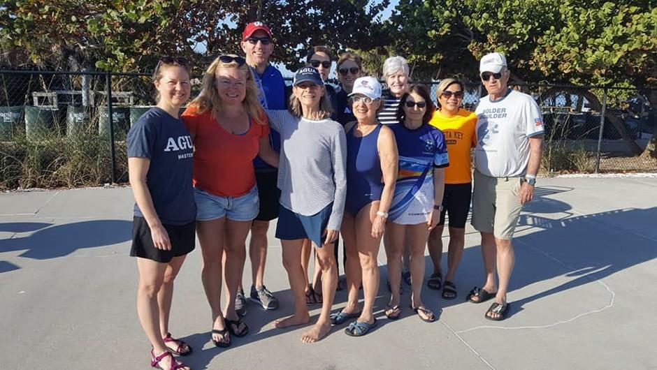 AGUA Masters Swim Team Takes Training to Florida