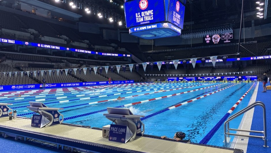 AGUA Swimmers Olympic Trails Results