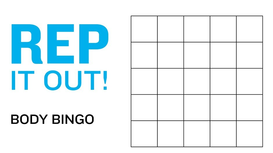 REP Game: Body Bingo
