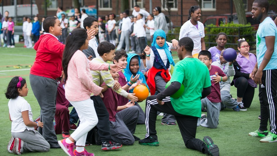 Recess Enhancement Program in 61 NYC Schools
