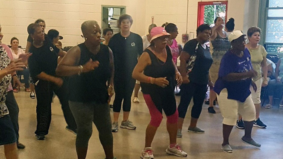 Asphalt Green Kicks Off Partnership with Union Settlement at Step It Up Senior Fitness Event