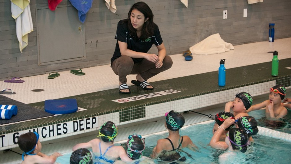 Asphalt Green Swimmers and Coaches Represented at Zone Swimming Championships