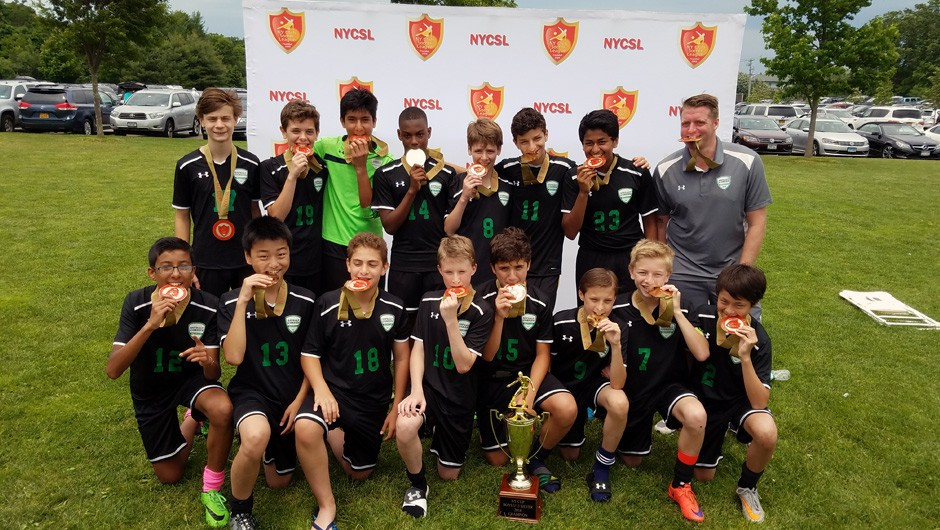 Two Asphalt Green Soccer Club Teams Crowned New York State Cup Champions