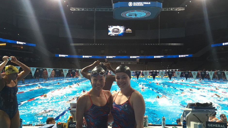 Olympic Trials Through the Eyes of Asphalt Green Swimmers Isabel Gormley and Krystal Lara