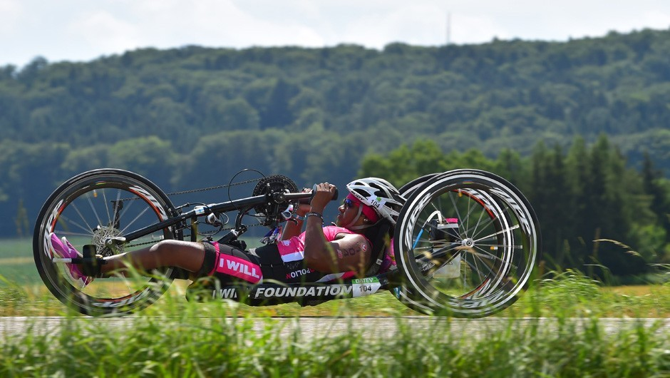 Wheelchair Athlete and Triathlon Club Member Minda Dentler Becomes a Four-Time Ironman