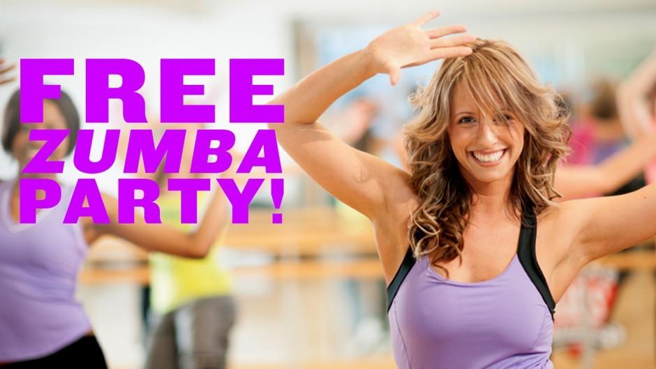 Free Zumba Party at Asphalt Green!